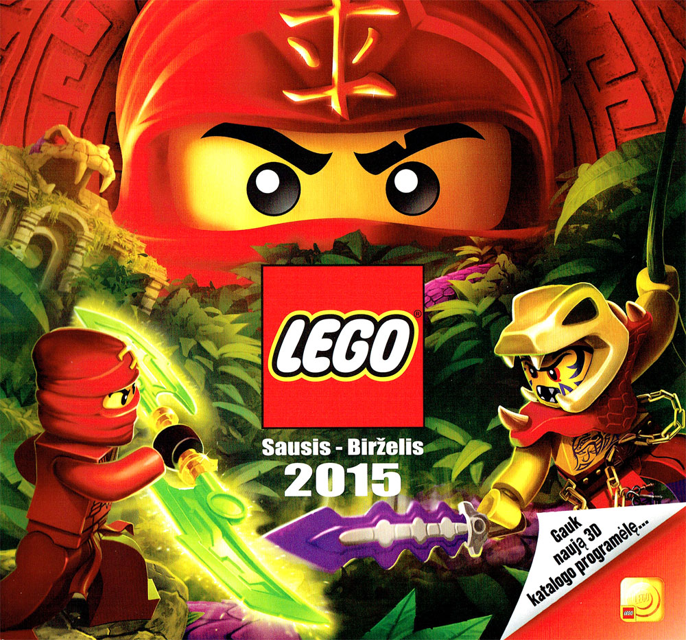 Lego Katalogas 2015